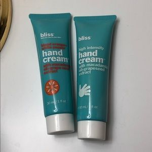 Bliss hand cream